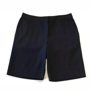 💜 Izod Bermuda Golf Shorts Black Stretch Pockets